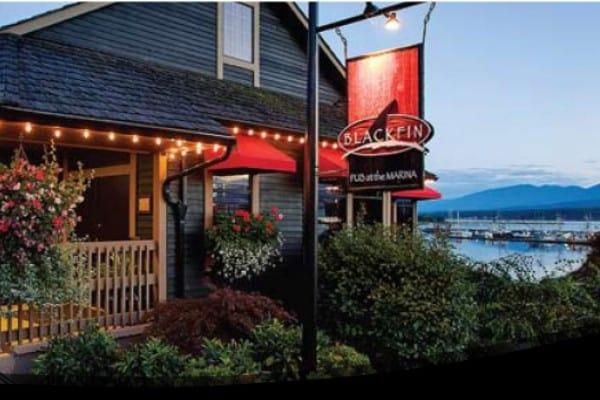 Black Fin Pub in Comox
