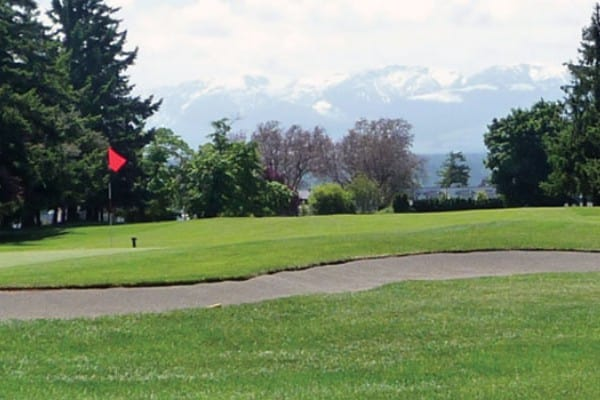 Comox golf course